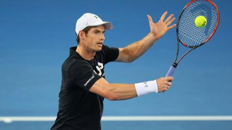 Andy Murray could face Roger Federer in the final eight
