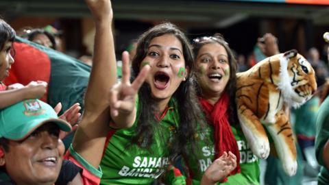 Bangladesh supporters
