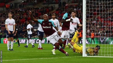 West Ham come from two down to beat Spurs