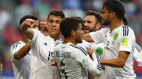 Mexico drew 2-2 with Portugal in their opening Confederations Cup game