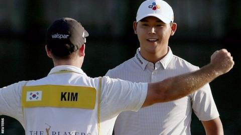 Si Woo Kim wins The Players Championship