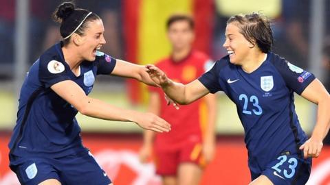 England 2-0 Spain