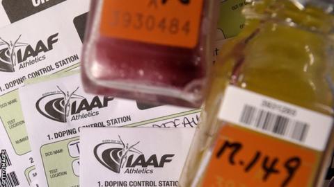 IAAF doping