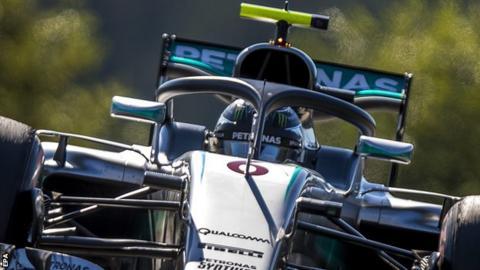 Rosberg on pole for Belgian Grand Prix