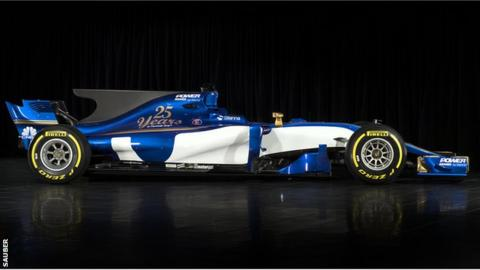 Sauber: New vehicle unveiled for 2017 season
