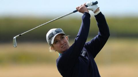 Cristie Kerr leads Karrie Webb at Ladies Scottish Open