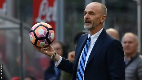 Inter sack second manager of the season Stefano Pioli
