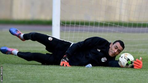 Egypt goalkeeper Essam El Hadary