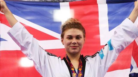 Charlie Maddock wins taekwondo gold for Great Britain