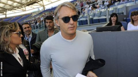 Roberto Mancini takes charge of Zenit Saint Petersburg