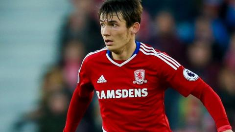 Middlesbrough midfielder Marten de Roon