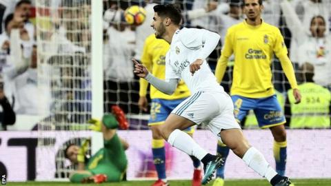 Marco Asensio scores stunner in Real Madrid win
