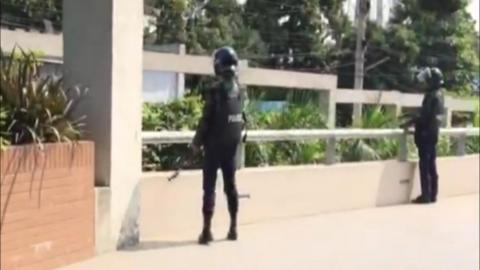 Security measures ahead of Bangladesh Test