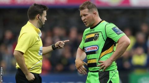 England trio Dylan Hartley, Nathan Hughes and Joe Marler cited