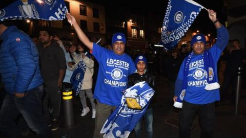 Leicester supporters