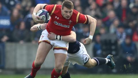 Dan Biggar of Wales