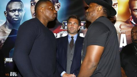 Dillian Whyte and Dereck Chisora