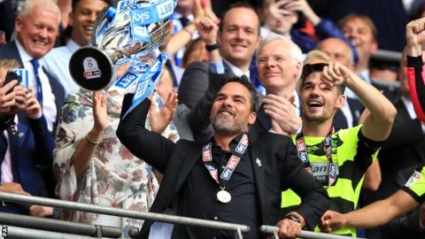 David Wagner: Huddersfield's Wembley heroes have become legends with historic promotion