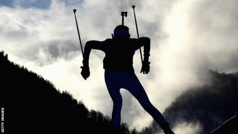 Kazakhstan denies doping after police raid biathlon team