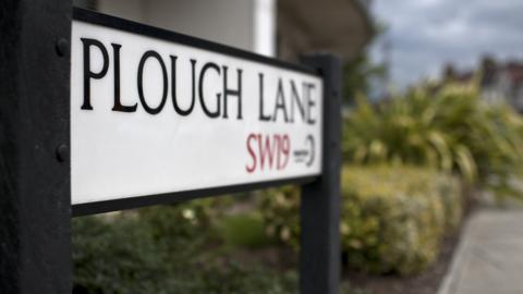 Plough Lane sign