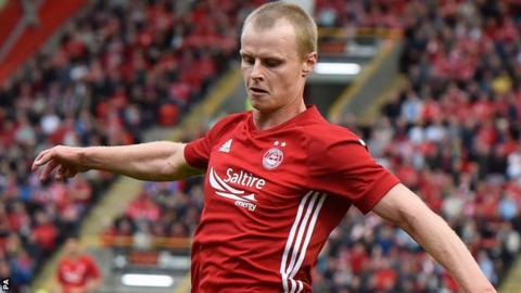 Gary Mackay-Steven scored the second goal for Aberdeen