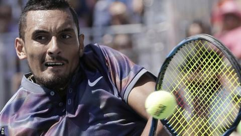 Kyrgios unsure of future with coach Grosjean after US Open exit
