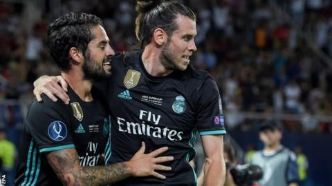 Gareth Bale helps Real Madrid beat Manchester United