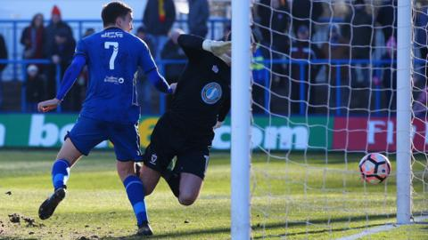 Adam Morgan scores for Curzon Ashton