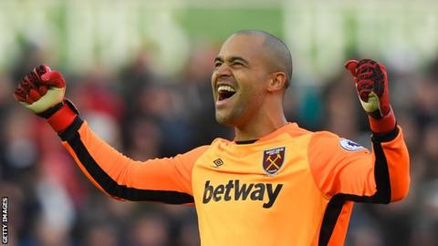 Middlesbrough sign West Ham United goalkeeper Darren Randolph in £5m deal