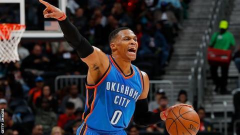 OKC's Westbrook named NBA MVP after historic season