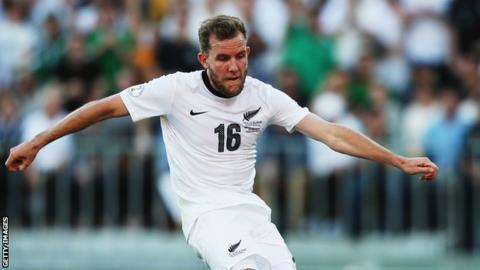 SuperSport United striker Jeremy Brockie