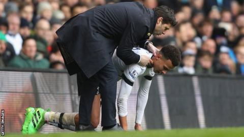 Tottenham's Mauricio Pochettino and Deli Alli