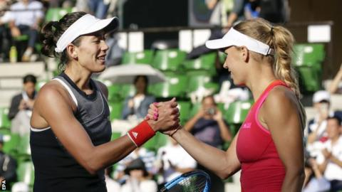 Top seed Garbine Muguruza sails into Pan Pacific Open semifinals