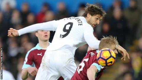 Swansea City defender Angel Rangel reveals broken metatarsal