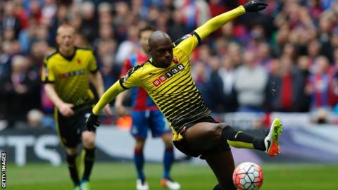 Allan Nyom joins West Bromwich Albion from Watford
