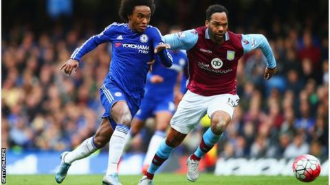 Willian and Joleon Lescott