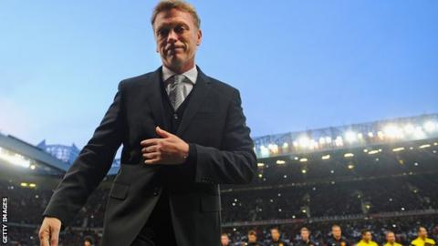 David Moyes won 27 of his 52 games in charge at Old Trafford