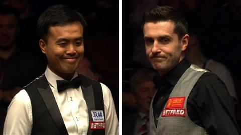 Marco Fu and Mark Selby