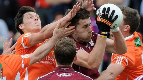 Galway beat Armagh in round 2B of the All-Ireland qualifiers