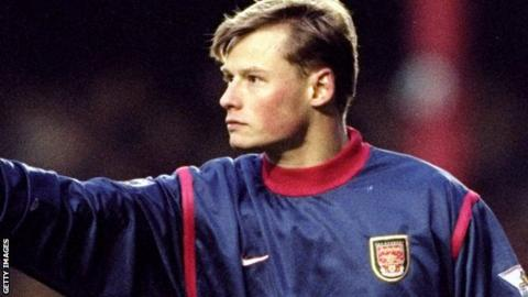 Alex Manninger in his Arsenal days