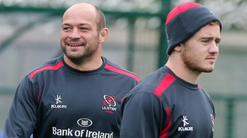 Rory Best and Paddy Jackson
