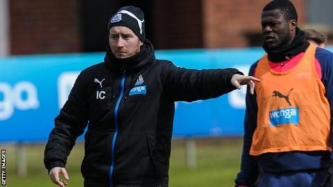 Newcastle United assistant Ian Cathro