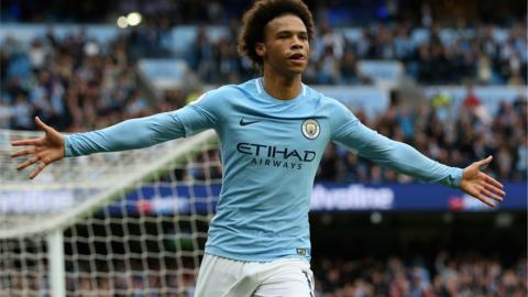 Manchester City striker Leroy Sane