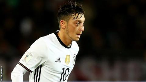 Arsenal and Germany midfielder Mesut Ozil