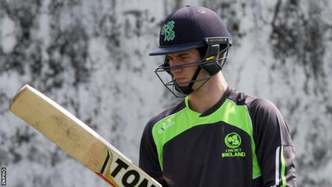 George Dockrell was one of three players put on stand-by for the Afghanistan series
