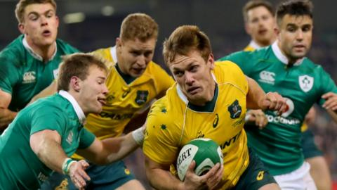 Ireland defeated Australia in Dublin in 2014 and 2016