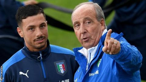 Armando Izzo was called up by Italy boss Giampiero Ventura