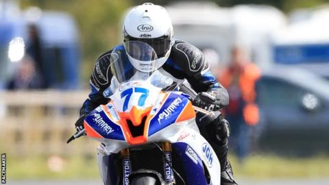 Hodson was an experienced rider, who was the reigning Manx GP Supertwins champion.