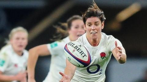 Holders England thrash Spain to begin defence of Women's Rugby World Cup