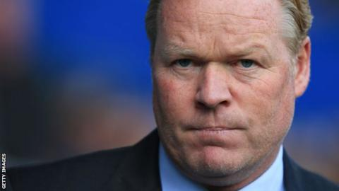 Ronald Koeman: 'Everton haven't had time to train'